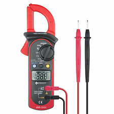 Etekcity MSR-C600 Digital LCD Clamp Meter Multimeter AC/DC Voltage DMM Tester
