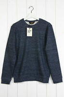 NEW LEE 101 PREMIUM CREW NECK  SWEAT SHIRT JUMPER LONG-SLEEVE  5% WOOL  S/M/L/XL