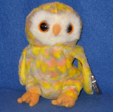 TY TWILIGHT the OWL BEANIE BABY - MINT with MINT TAGS