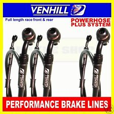 SUZUKI GSX-R750 M 1991 VENHILL F&R s/steel braided brake hose set BK