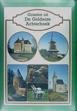 CPA Holland Gelderse Achterhoek Windmill Moulin Windmühle Molin Horse Pferd w335
