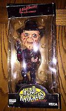 """A Nightmare on Elm Street Head Knocker Freddy Krueger Bobble Head 7"""" Tall"""