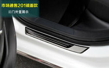 Stainless 4PCS Door Sill Scuff Plate New For Volkswagen VW Golf 7 MK7 2013 14 15
