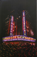 JOE BONAMASSA, RADIO CITY MUSIC HALL POSTER (Y3)