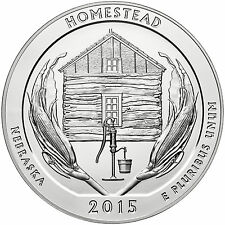 2015 - ATB 5oz Silver Homestead National Monument of America