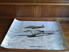 Harrier Jump Jet Picture ready for framing