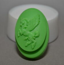 UNICORN SOAP BAR - Soap Silicone Mould mold PLASTER CANDLE CLAY WAX