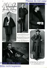 Men´s fashion 1 page photo images 1925 with actor Paul Hartmann Germany 20s +