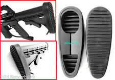 6 Position Anti-Slip Stealth Rubber On Rubber Butt Pad Combat Stand Holder *