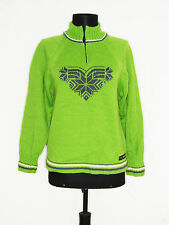 DALE OF NORWAY Women's Stunning Green PURE NEW WOOL Jumper Size: S