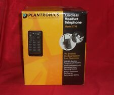 plantronic ct10 900 mhz single line cordless headset phone