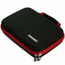 VG Black/Red Harlin Hard Protective Case Cover for Diabetic Organizer Carrying /