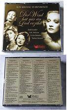 STARPORTRAIT Zarah Leander, Marlene Dietrich,... 98 Titel Readers 4-CD-Box TOP