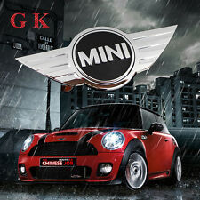 For MINI COOPER Chrome Front Hood Rear wing JCW Badge Emblem Logo Sticker R50 52