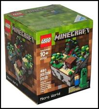 LEGO Minecraft Micro World 21102 - 480 Pieces Age 10+