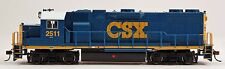 Bachmann HO Scale Train Diesel Loco GP38-2 DCC Equipped CSX #2511 61119