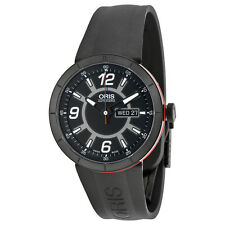 Oris TT1 Diver Automatic Black Dial Black Automatic Mens Watch 735-7651-4764RS