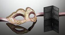 kleine original venezianische Maske Augenmaske für Karneval Maskenball Fasching
