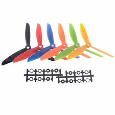 2Pairs X FC7X4.5 Colorful Blade 7045 Propeller 3-Blades L/R porp Multi-Copter Ge