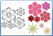Heartfelt Creations Stamp & Die Combo ~ ARIANNA BLOOMS  ~ HCPC-3608, HCD1-748