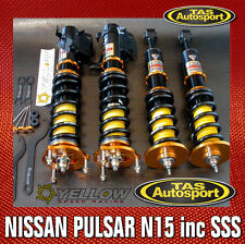 YELLOW-SPEED COILOVERS SUSPENSION NISSAN PULSAR N15 95-00 inc SSS yellowspeed