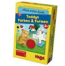 HABA Mi primer juego Teddys Colores & Formas 5878 a partir de 2 años combinar