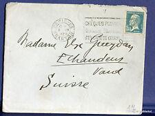 FRANCE PASTEUR 1,50 Fr  Yt 181 sur lettre  SUISSE- 1928 FA78