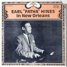 "EARL ""FATHA"" HINES: In New Orleans USA Biograph JAZZ VINYL LP"