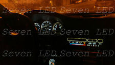 Honda Civic EG 92-95 Gauge Cluster + Climate control LED KIT Pure WHITE