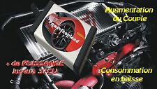 RENAULT CAPTUR 1.5 DCI 110 Chiptuning Chip Tuning Box Boitier additionnel Puce