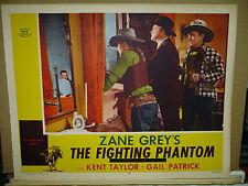 THE FIGHTING PHANTOM, 1952 reissue LC #6 (Kent Taylor vs outlaws) - Zane Grey