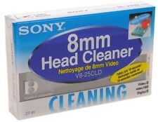 Sony - 8mm Video 8 Hi8 Cleaning Cassette - NEW