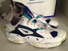 Reebok Shoes Blur Low Fitness 8 2-27795 White Navy 1993 Vintage Sneakers