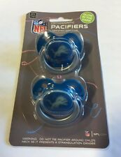 Detroit Lions GLOW IN THE DARK Baby Infant Pacifiers NEW 2 Pack gift