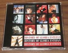 History Of GLORIA ESTEFAN Japan PROMO ONLY 18 track CD official FREE SHIPPING!