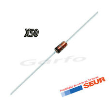 50X Diodo Zener 9V1 9,1V 500mW 0,5W DO-35