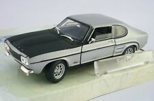 Ford Capri Rare GREY AND BLACK Cararama 1:43 i-modelcars