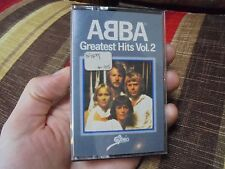 ABBA_Greatest Hits Vol 2_used cassette_ships from AUS!_S4