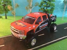 1/64 CUSTOM 2015 Chevrolet Silverado G-4 Lift Kit, holmatro safety team Crew Cab
