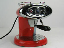 illy Francis Francis X7 IperEspresso Capsule Machine Red Fully Tested
