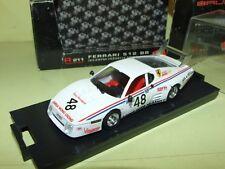 FERRARI 512 BB N°48 LE MANS 1981 BRUMM R211