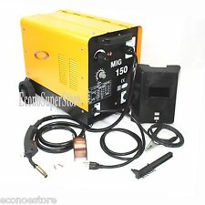 MIG175  110V Flux Core Welding Machine Gas No Gas Welder Wire Auto Feed