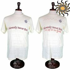 Wizarding World of Harry Potter Marauders Map Color Change T-shirt  L