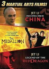 Martial Arts Triple Feature (The Medallion, Once Upon a Time in China, Legend of