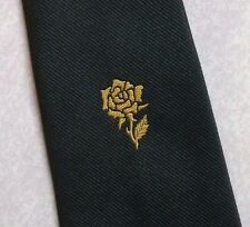 ROSE CREST CLUB ASSOCIATION TIE VINTAGE RETRO BY CH MUNDAY GREEN OLD 1980s 1990s