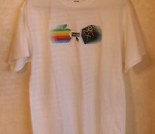 Apple Computer Logo NeXT Computer Logo Merge T-shirt - M -