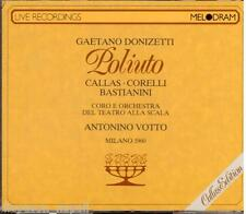 Donizetti: Poliuto / Votto, Callas, Corelli, Bastianini, Scala 7.12.1960 - CD