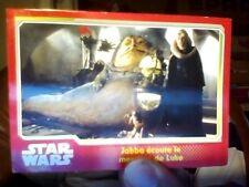 Topps Star Wars Disney N°100 !!! Jaba ecoute le message de Luke