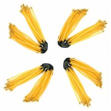 New Yellow Powerful Elastic Rubber Bands For Outdoor Slingshot Catapult Hunting