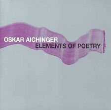 ELEMENTS OF POETRY NEW CD